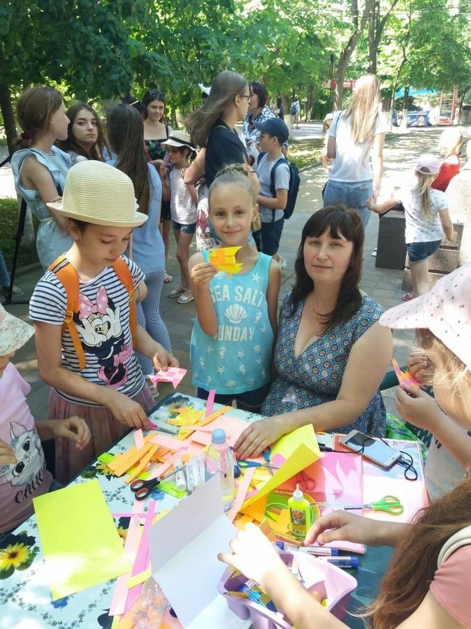 День рождения А. С. Пушкина в парке М. Горького