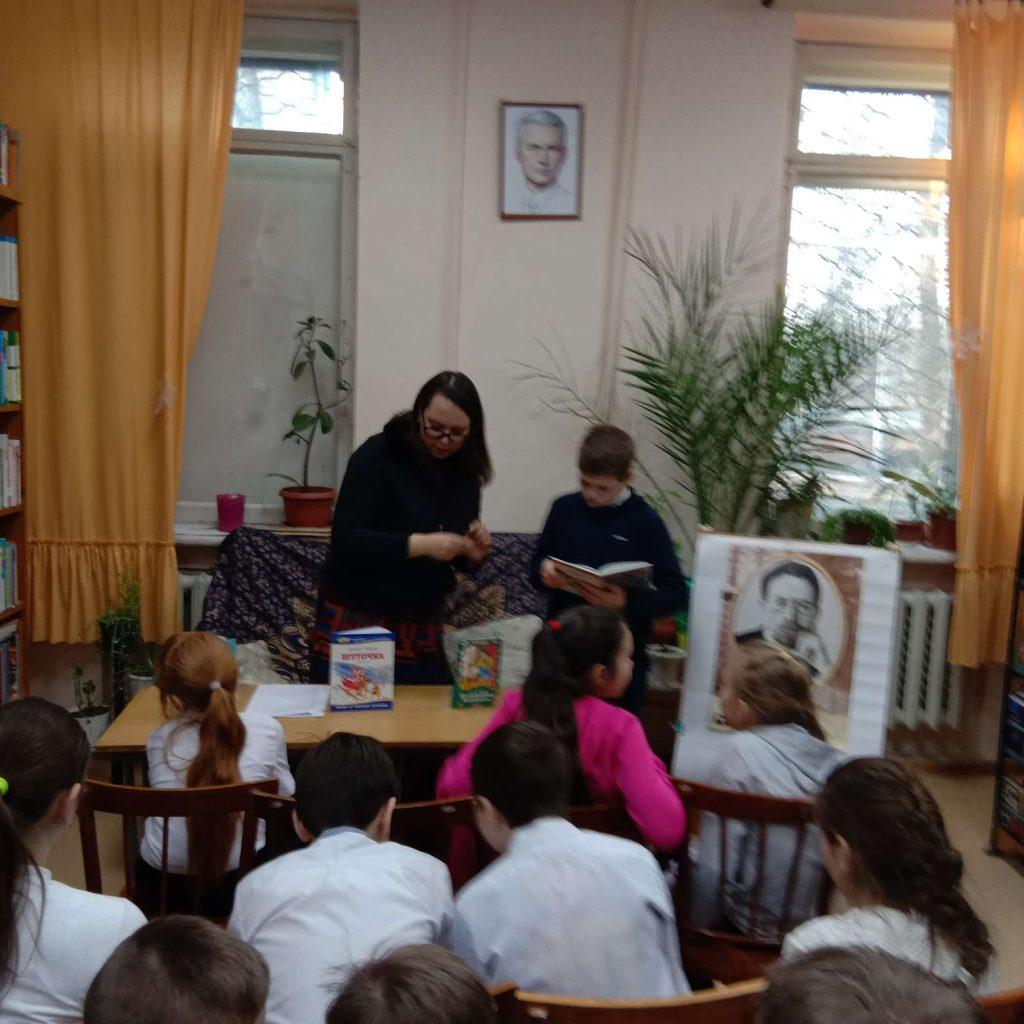Городская библиотечная акция «Читаем Чехова». Литературная викторина «Ожившие герои знакомых  рассказов»